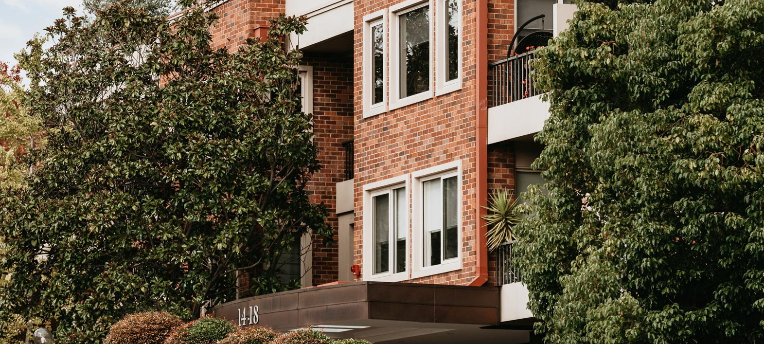 Prospect Hill Camberwell, retirement living - building facade