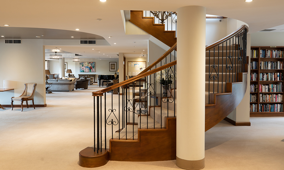 Prospect Hill Camberwell, retirement living - lounge area shared spaces