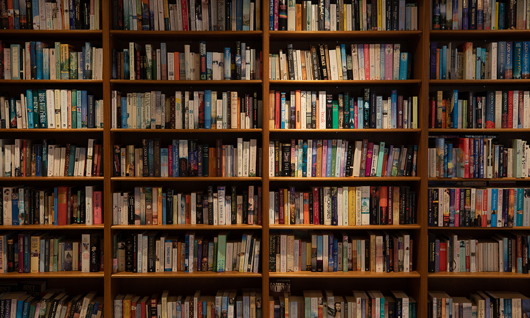 Prospect Hill Camberwell, retirement living - library shelf shared spaces