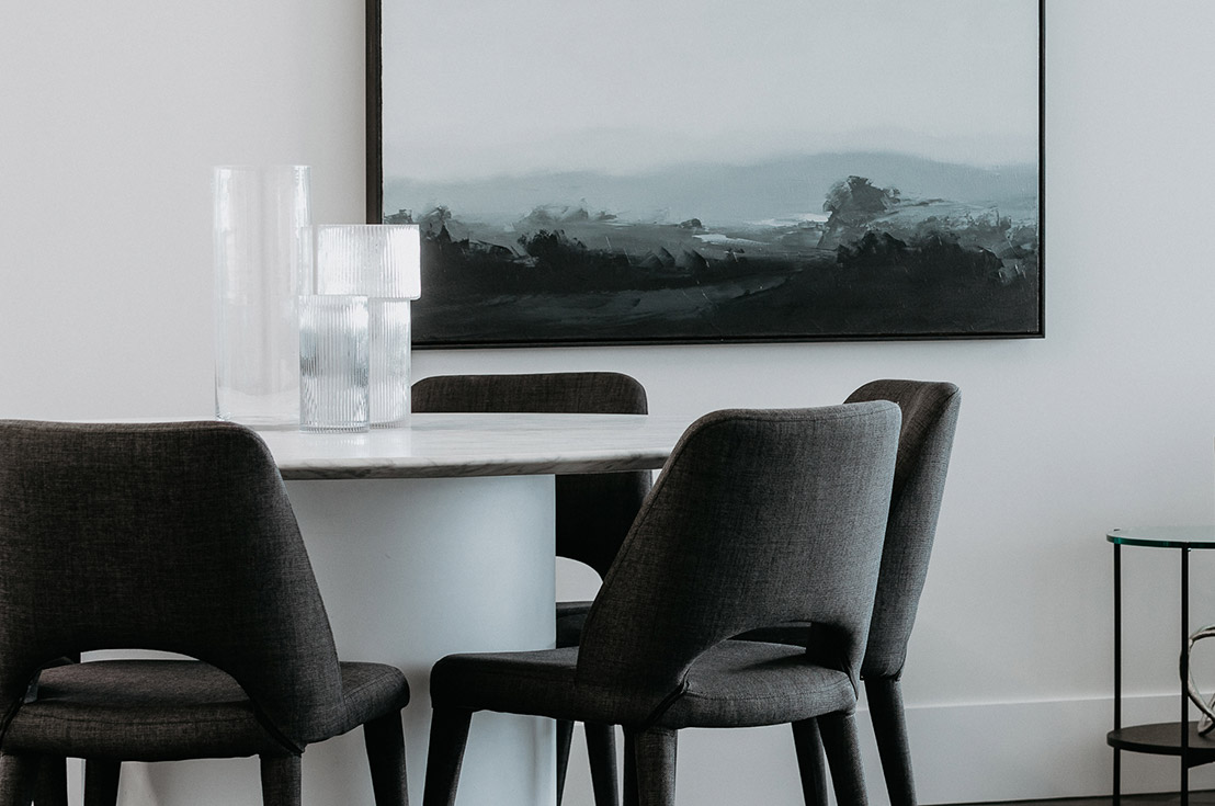 Prospect Hill Camberwell, retirement living - dinning table